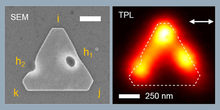 Modal engineering of surface plasmons in apertured Au nanoprisms